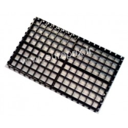 GRILLE OPTIQUE - SUPPORT DE PIERRES 34 x 20cm