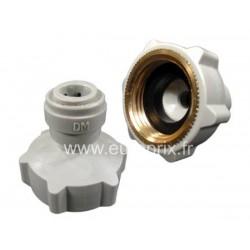 Adaptateur tuyau osmoseur sur robinet type lave vaiselle - Adaptateur douchette sur robinet ...