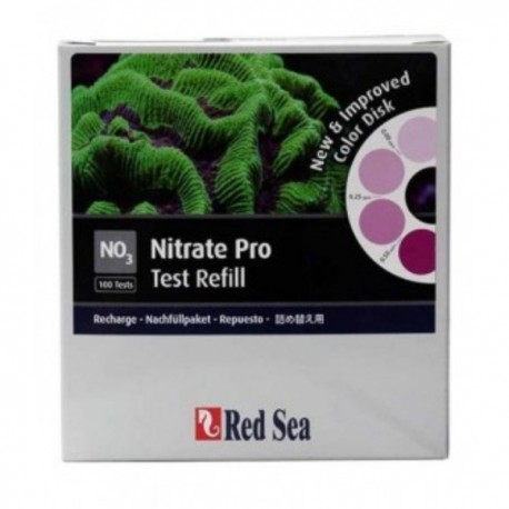 RECHARGE TEST NITRATE PRO RED SEA