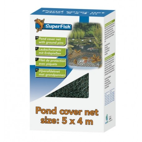 POND COVER NET SUPERFISH - 4x3m