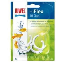 JUWEL CLIP HIFLEX POUR T8 - lot de 4