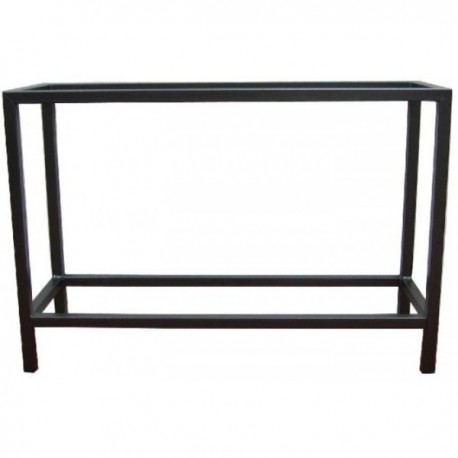 TABLE METALLIQUE SOUDEE 120x40x70cm