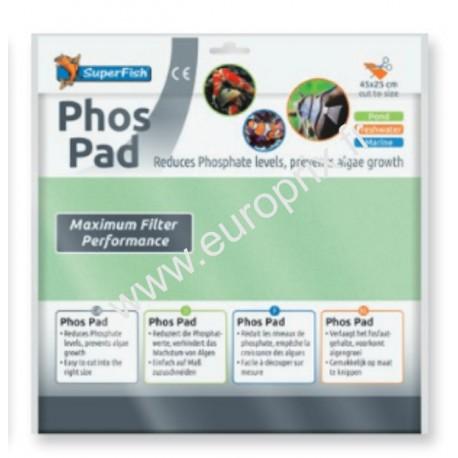 SUPERFISH PHOS PAD - 45X25CM