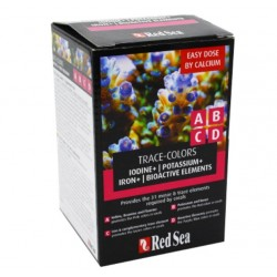 RED SEA TRACE COLORS ABCD - 4x100ml