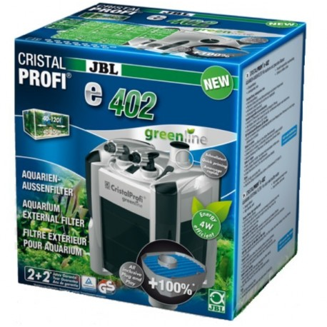 FILTRE JBL CRISTAL PROFI E402 GREENLINE - 450L/H