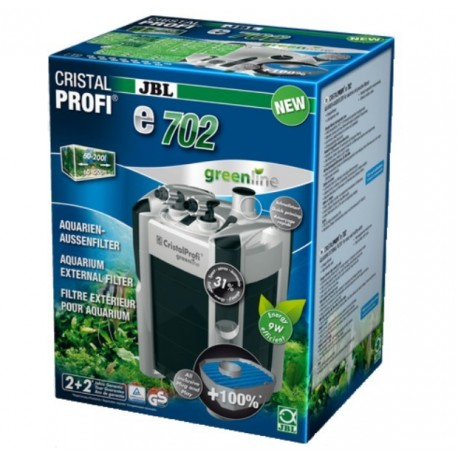 FILTRE JBL CRISTAL PROFI E702 GREENLINE - 700L/H