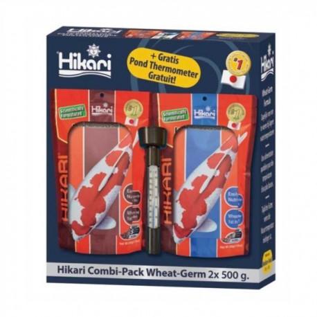 HIKARI COMBI PACK WHEAT-GERM 2X500GR