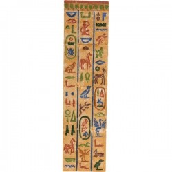 DECOR FOND HIEROGLYPHES