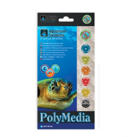 POLY MEDIA AQUARIUM SYSTEMS 20x10cm