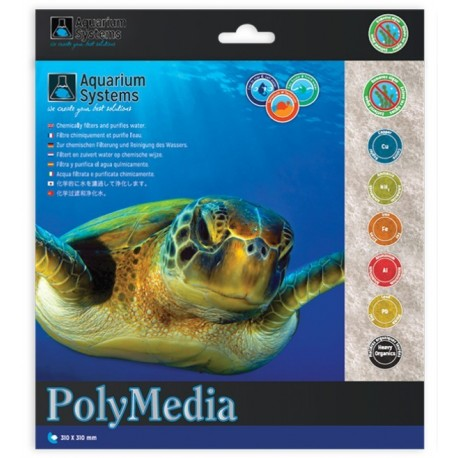 POLY MEDIA AQUARIUM SYSTEMS 31x31cm
