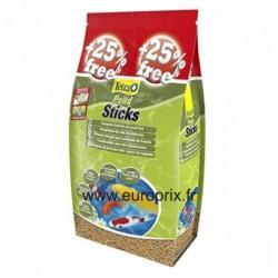 TETRA POND STICK 50 litres (dont 25% gratuit)