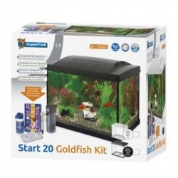 AQUA 20 LED GOLDFISH KIT SUPERFISH - 20 litres