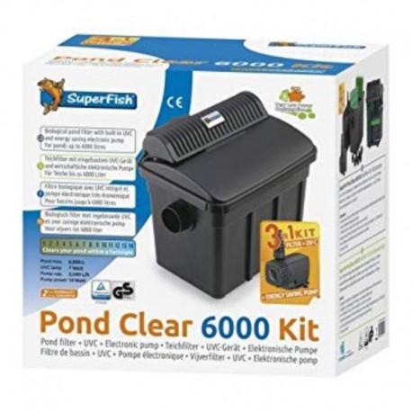 SUPERFISH POND CLEAR 6000