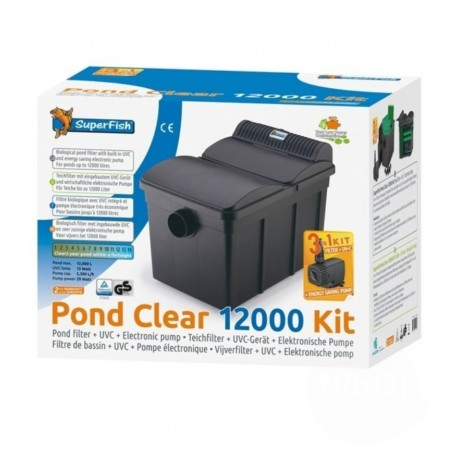 SUPERFISH POND CLEAR 12000