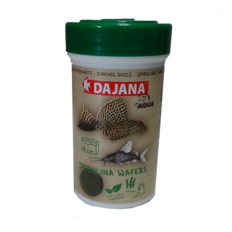SPIRULINA WAFERS DAJANA 250ml