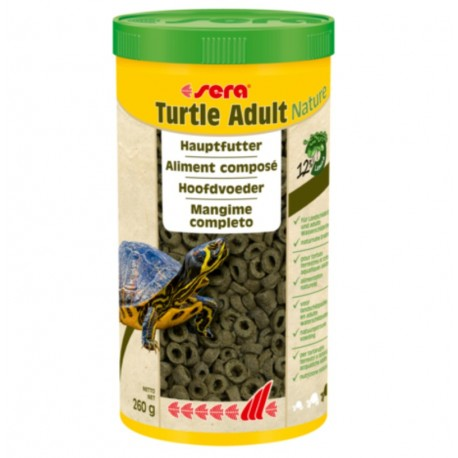 SERA TURTLE ADULT NATURE 1000ML
