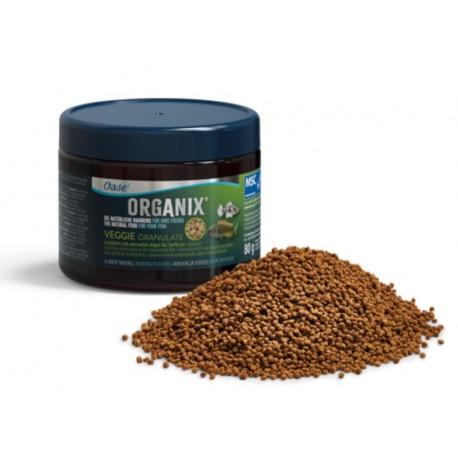 OASE ORGANIX VEGGIE FLAKES 150ML - 25gr - nourriture paillettes pour poissons herbivores