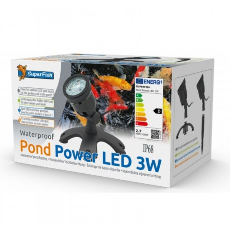 POND POWER LED 3W SUPERFISH