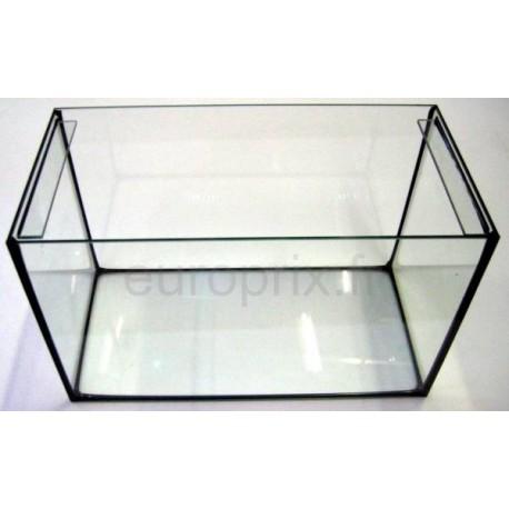 aquarium / cuve nue en verre collé 50x25x30cm - 37,5 litres