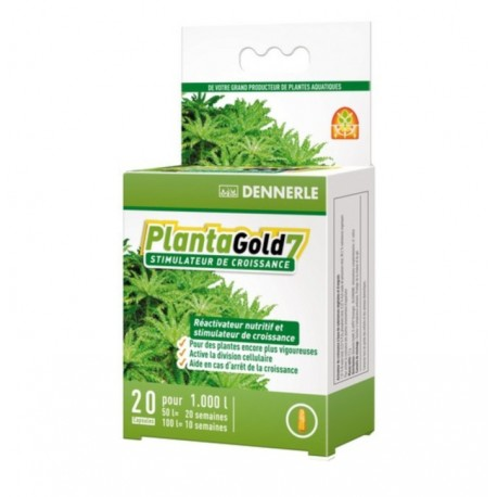 PLANTA GOLD 7 DENNERLE 20 CAPSULES