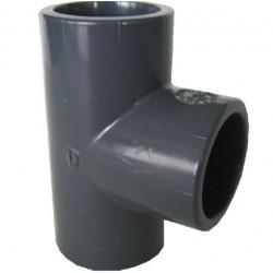 RACCORD T à 90° PVC Ø12mm