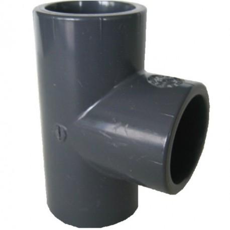 RACCORD T à 90° PVC Ø25mm