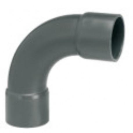 COUDE LONG 90° PVC Ø40mm