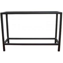 TABLE INOX SOUDE 100x50x70cm