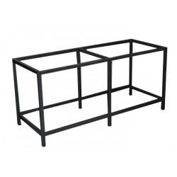 TABLE INOX SOUDE 150x50x70cm