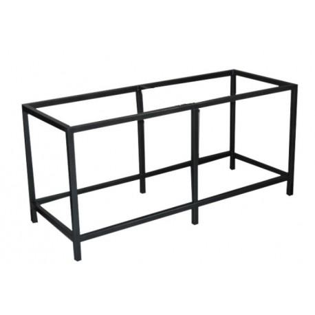 TABLE METALLIQUE A MONTER 150x50x70cm