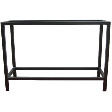 TABLE METALLIQUE SOUDEE 120x60x70cm