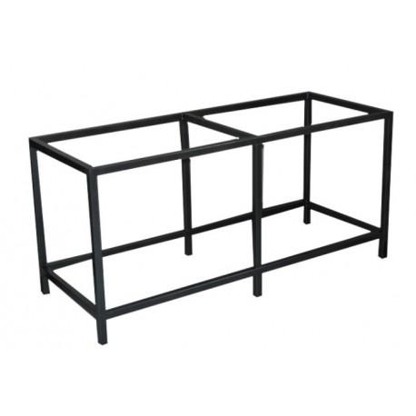 TABLE METALLIQUE SOUDEE 150x60x70cm