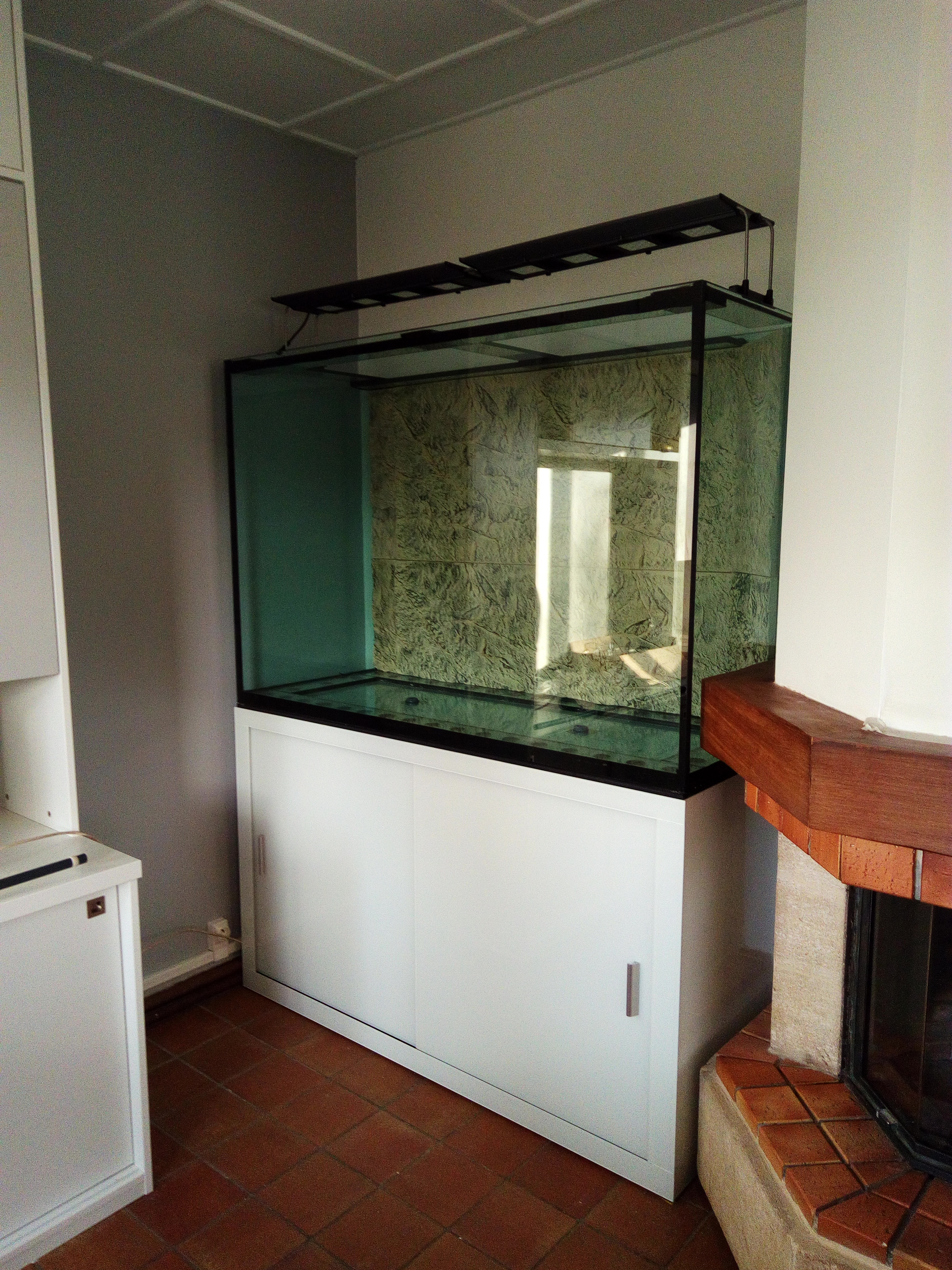 aquarium 150x60x100cm avec meuble
